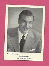 Mario Lanza Vintage Movie Film Star German Card