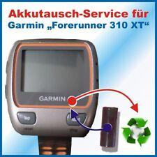 Akkutausch Akkuwechsel Battery Exchange Laufuhr GPS Garmin Forerunner 310 XT