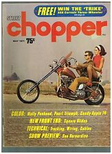 STREET CHOPPER MAY 1971 SEE CONTENT AEE 70's STYLE CUSTOM CHOPPERS TECH TIPS