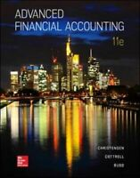 Advanced Financial Accounting by Budd, Cassy Book The Fast Free Shipping