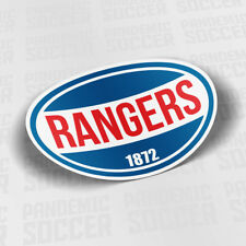 Rangers Scotland Sticker Adhesive Vinyl Decal Auto Football Celtic Glasgow
