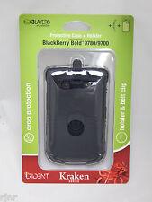 Trident Kraken Protective Case + Holster BlackBerry Bold 9780/9700 Black NEW