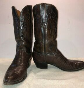 Lucchese Men's Classics Handmade Boots Brown Size 10D