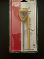 New listing Don Waterproof Digital Thermometer K5480 New - Kitchen, Food