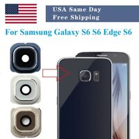 Rear Back Camera Glass Lens Cover Replacement For Samsung Galaxy S6 S6 Edge Plus