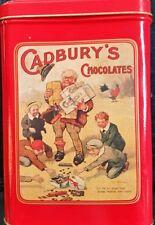 1990 Cadbury's Mounds Square Tin, Vintage Repro
