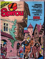 b)SPIROU N°2194; Khéna/ avec le spirou pirate n°6