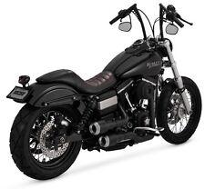 Vance and Hines Hi-Output Grenades Black Fits Harley davidson 06-16 Dyna