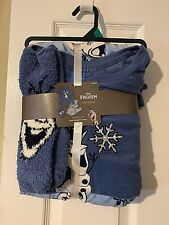 Disney Frozen Olaf Sleepwear 3pc Pajama Set Lounge Pants Socks Women's Sz XL NWT