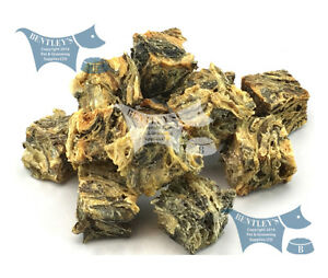 Sea Jerky Fish Skins, The healthy DENTAL CHEW alternative! - Crunchy Mini's
