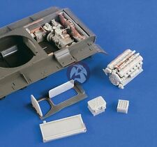 Verlinden 1/35 Russian T-55 Tank Engine and Engine Compartment Set (Tamiya) 2186