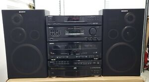 Sony LBT-D107R/HST-D107R Compact Stereo PERFECT!! CONDITIONS.