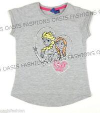 T-shirts et débardeurs gris Disney pour fille de 2 à 16 ans en 100% coton