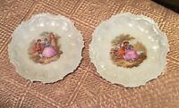 2 Fraganard Courting Couple Plates