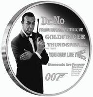 James Bond Sean Connery 1 oz silver coin Tuvalu 2021