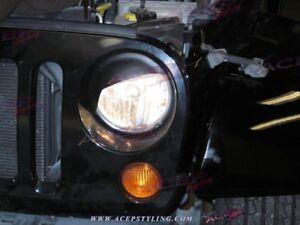 """TRIDON XT"" eyelids headlight covers fit jeep wrangler 07-15"