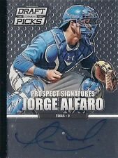 JORGE ALFARO 2013 Panini Draft Picks RC Autograph  Auto Florida Marlins