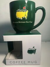 Augusta National Masters Ceramic Green Coffee Mug