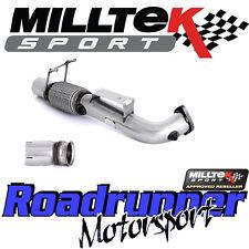 "Milltek Focus RS 2.3 MK3 3"" DeCat Downpipe Largebore Exhaust & Pipe - Fits To OE"