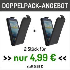 Angebot Flip Cover Schutzhülle in Schwarz für Samsung Galaxy S3 2 Stück