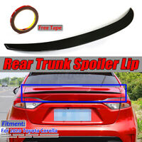 For 2020 Toyota Corolla Painted Black P Performance Rear Tail Trunk Spoiler