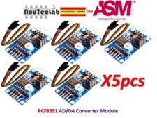 5pcs PCF8591 AD/DA Converter Module Analog To Digital Conversion AD DA + Cable