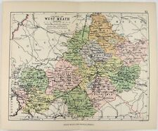 Map Of Co Meath Ireland.Antique European Maps Atlases Ireland Meath For Sale Ebay
