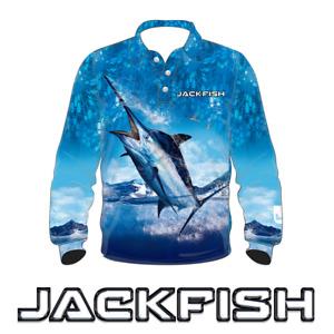JACKFISH Marlin Long Sleeve Fishing Shirt - KIDS YOUTH UPF UV SUN PROTECTION