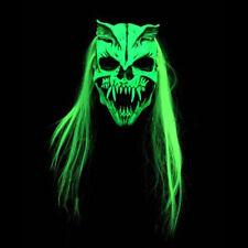 Nuclear Option UV Blacklight Reactive Green Zagone Studios Adult Latex Mask