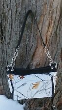 True Timber Snowfall Camouflage Chain Tote Handbag