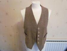 Vintage Brown Waist Coat Size 12