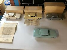 ford promo cars Near mint w/ letter iacocca