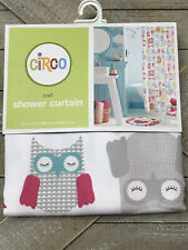 New listing Owl Fabric Shower Curtain New in Package