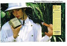 Publicité Advertising 1987 (2 pages) Le Thé Twinings of London par Ted Bates