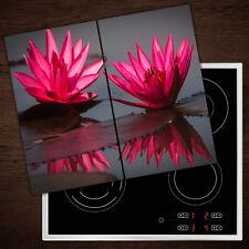 FORNELLO lastre di copertura in vetro PARASPRUZZI ROSA ROSE 60x52 cm