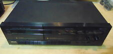 AKAI HX-26W stereo double cassette deck TESTED & WORKING