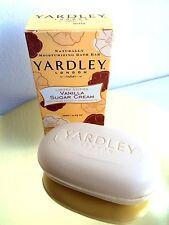 Yardley Vanilla Sugar Cream Limited Edition Bath Soap
