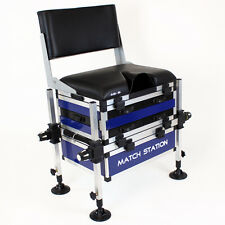 Match Station® AS5 Alloy Pro-Sport™ Seat Box & Back Rest