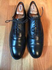 """New Allen Edmonds """"Park Avenue"""" Black Oxford Cap-toe size 10 A mens leather shoe"""