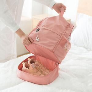 Ladies Bag Large Capacity Dry Wet Separation Sports Shoulder Messenger Bag BS