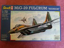 Maquette Neuve Revell 1/72 Avion MiG-29 FULCRUM REUNION ouvert pour photos