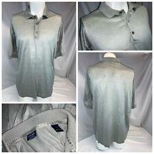 Como Sport Polo Shirt L Men Gray 100% Cotton Italy Worn 1x Mint YGI G1-112