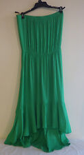 Coco Bianco Swimsuit Cover-up Dress Strapless High Low Mint Green Small NWT $58