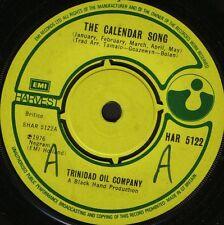 "TRINIDAD OIL COMPANY the calendar song/mie senie abay HAR 5122 uk 7"" WS EX/ wol"