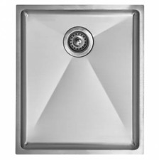 1552 Astracast Foss 1.0 Bowl Brushed Steel 430×370 mm Reversible Sink