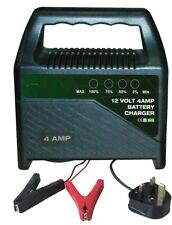 Universal 4 amp Battery Charger For Vauxhall, Astra, Corsa, Vectra, Insignia