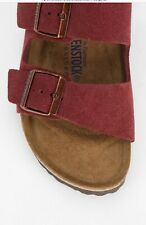 Birkenstock Arizona Soft Slide Sandal: Size 42 (N): Bordeaux (23)