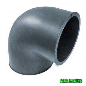 Simoni SR/901 Raccordo in gomma ad angolo 90° per filtri aria ø IN e OUT 76 mm