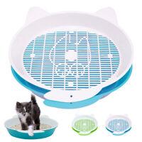 Sifting Cat Litter Box Kitten Pan Pet Puppy Kitty Toilet Training Cleaning Pans