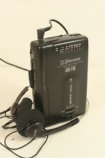 EMERSON AC212GCS, AM/FM radio cassette walkman,serviced. (ref C 579)